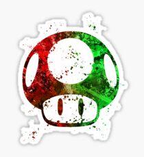 Super Mario Splatter Sticker