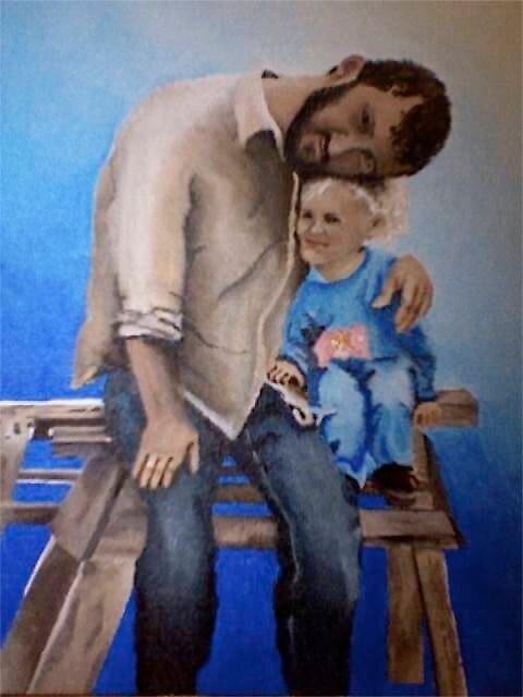 Me an Dad by Ashlee Y