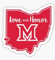 Miami - Oxford - Love and Honor Sticker