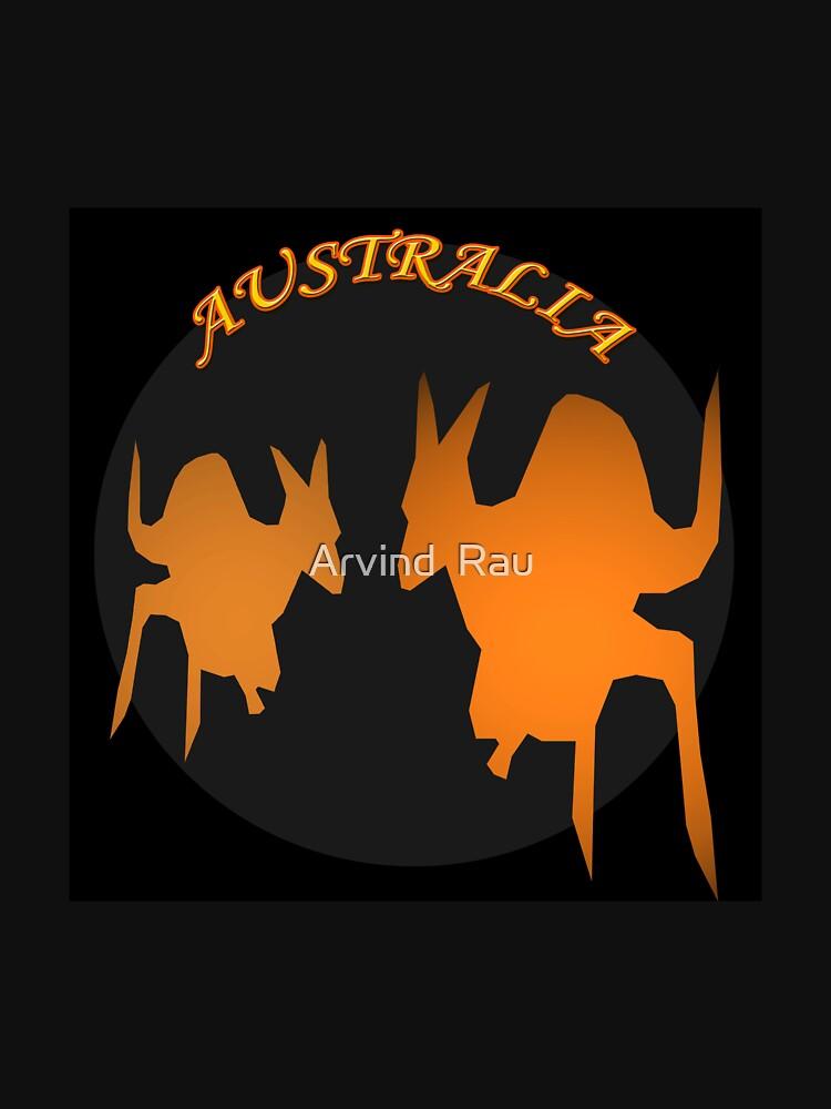 Kangaroos by artyrau