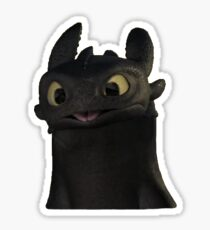 Toothless sticker Sticker