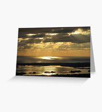 Sunrise Spotlight Greeting Card
