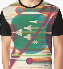 Affiche Retro Space - Le Grand Tour T-shirt graphique