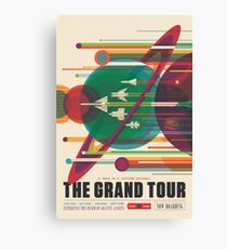 Lienzo Cartel Retro Space - The Grand Tour