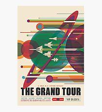 Lámina fotográfica Cartel Retro Space - The Grand Tour