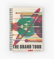 Cuaderno de espiral Cartel Retro Space - The Grand Tour