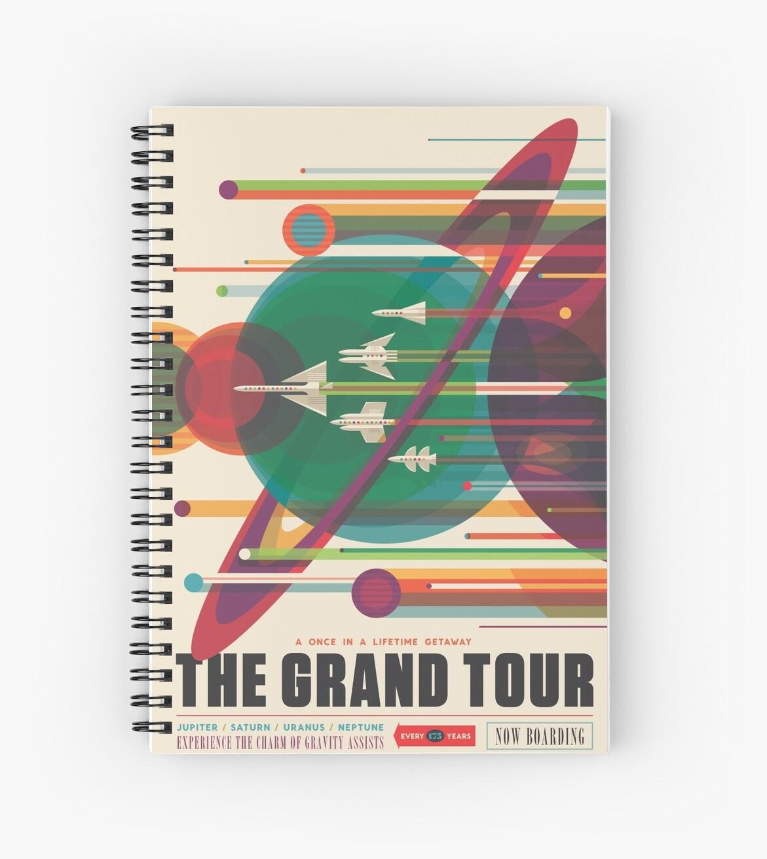 «Cartel Retro Space - The Grand Tour» de whitneykayc