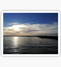 View from Ballycastle, Ireland Sticker