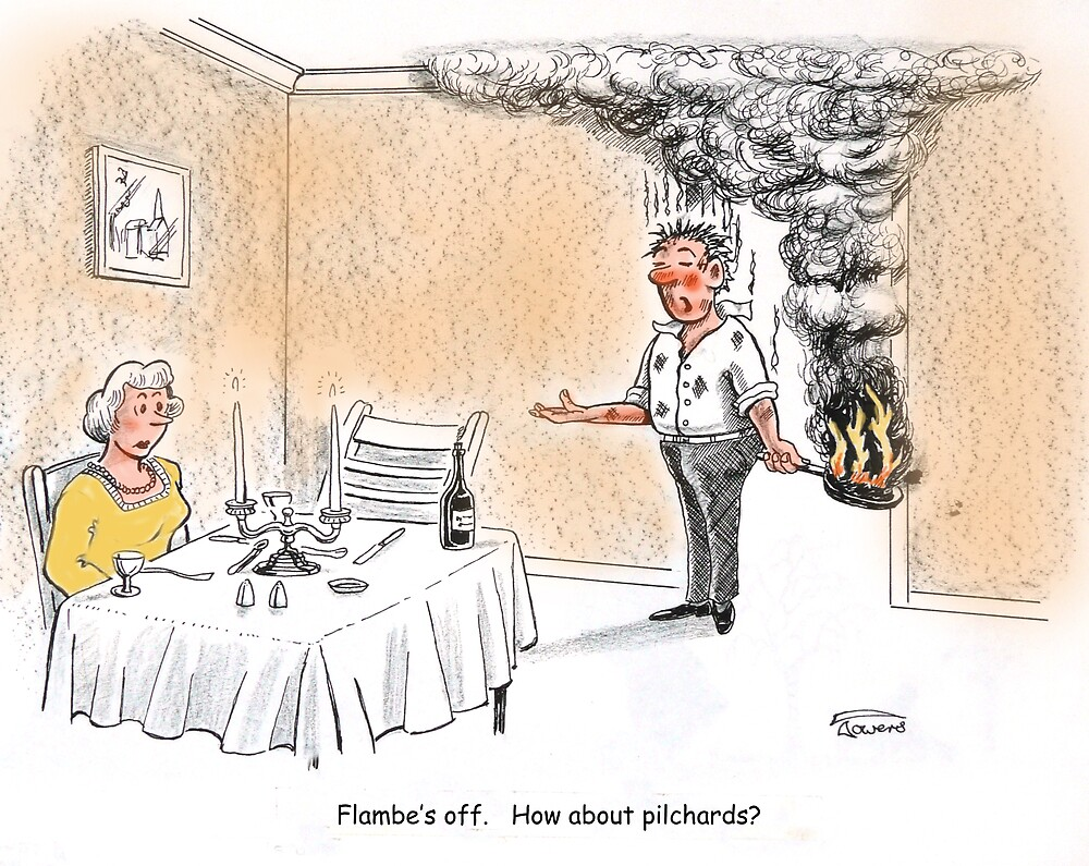 Pilchards? by Brian Towers