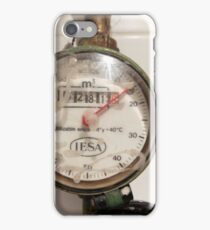 Contador gas iPhone Case/Skin