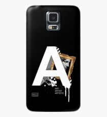 A IS FOR ART Case/Skin for Samsung Galaxy