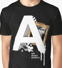 A IS FOR ART Graphic T-Shirt