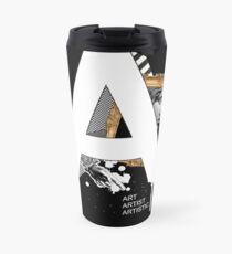 A IS FOR ART Travel Mug