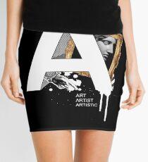 A IS FOR ART Mini Skirt
