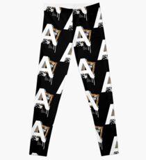 A IS FOR ART Leggings