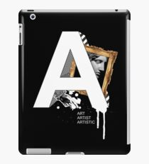 A IS FOR ART iPad Case/Skin
