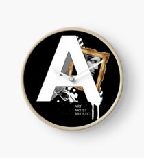 A IS FOR ART Clock