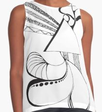 Triangular Abstract Contrast Tank