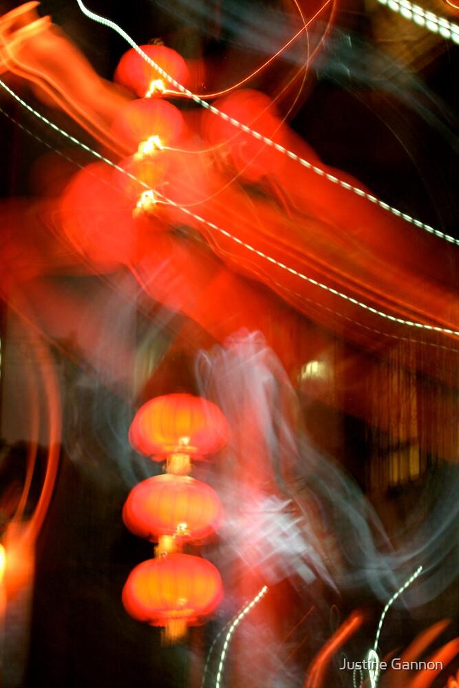 Beijing blur by Justine Gannon
