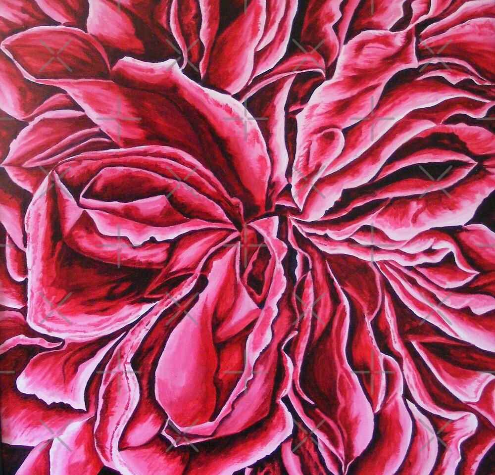 abstact flower by dnlddean
