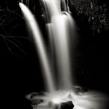 Scaling waterfall, North Yorkshire by PaulBradley