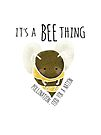 It's a Bee Thing. Pollination... Food for a Nation by jitterfly