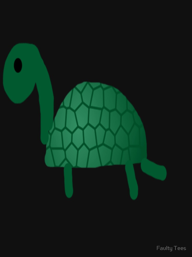 turtle by faultytees