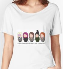 I Like Stories Where Women Save Themselves Women's Relaxed Fit T-Shirt
