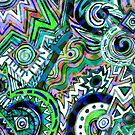 Abstract Pattern by gretzky