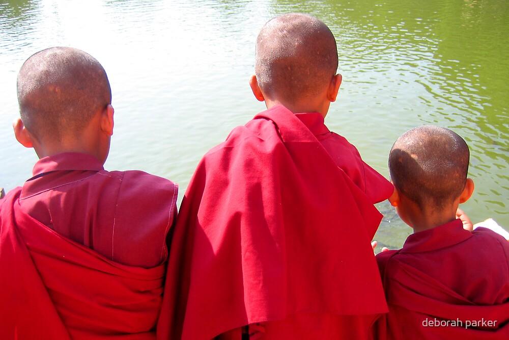 young monks by deborah parker