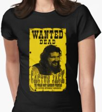 CACTUS JACK WANTED POSTER Womens Fitted T-Shirt