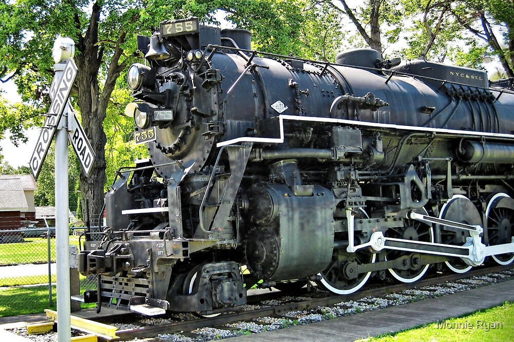 Nickel Plate Berkshire 755 by Monnie Ryan