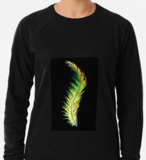 Feather - Green Lightweight Sweatshirt