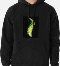 Feather - Green Pullover Hoodie