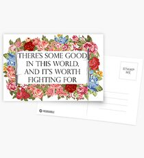 Good in this world Postcards