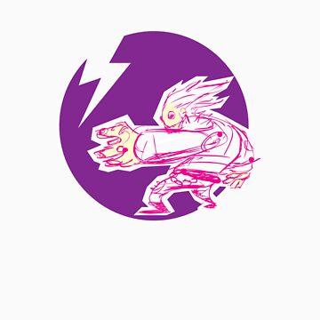 purple guy by dokhaus