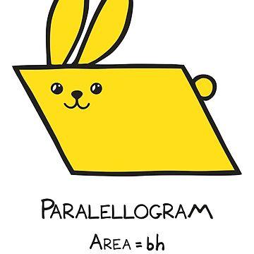 Paralellogram GeoBunny by 2redheadedbros
