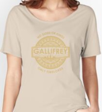 Gallifrey - No Gods or Kings, only Timelords Women's Relaxed Fit T-Shirt