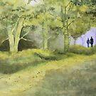 forest walk by diane nicholson