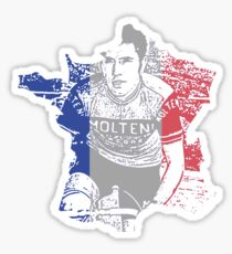 Eddie Merckx France Sticker