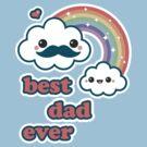 Cute Best Dad Ever by sugarhai