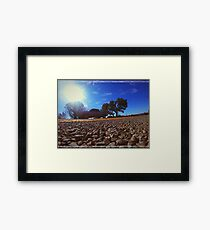 Old dodge pick up truck Framed Print