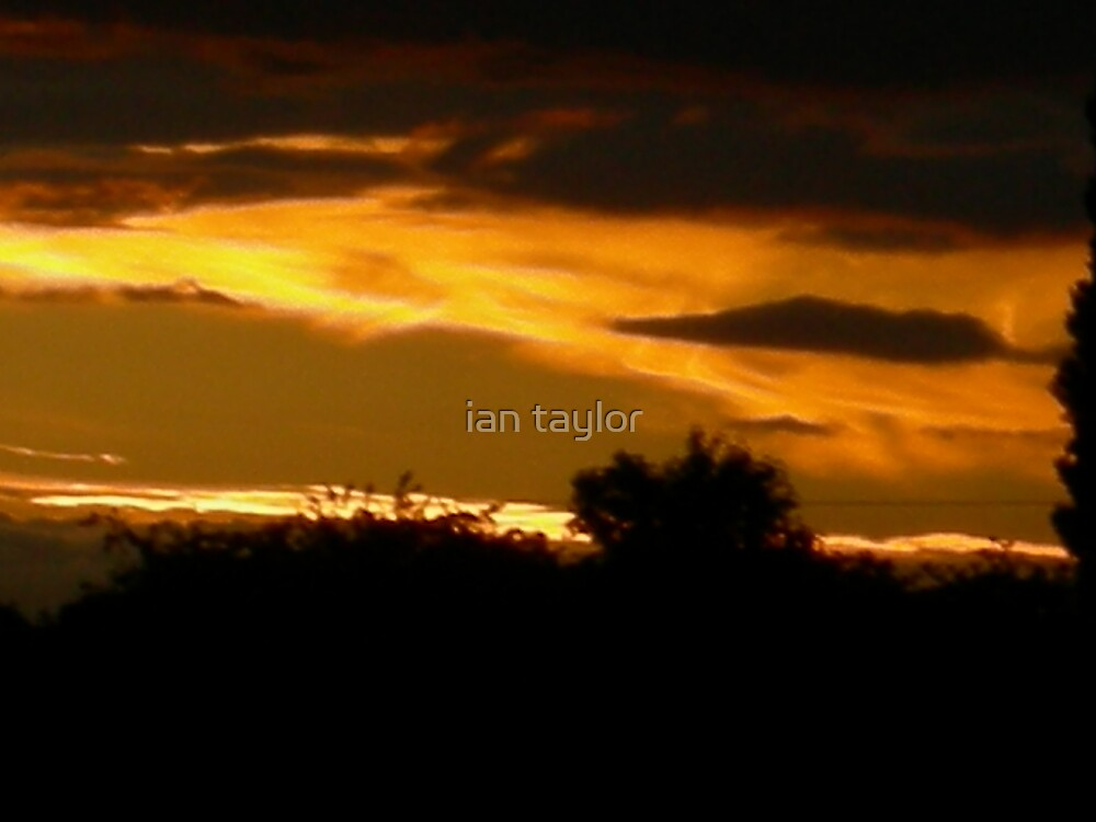 sunset by ian taylor