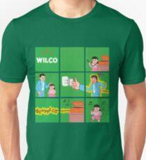 WILCO American Tour 2017 DVID4 T-Shirt