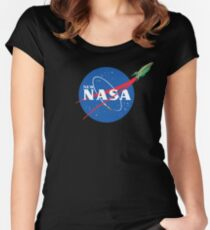 NASArama Women's Fitted Scoop T-Shirt
