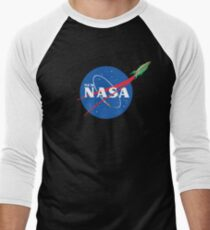 NASArama Men's Baseball ¾ T-Shirt