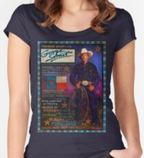 George Strait Women's Fitted Scoop T-Shirt