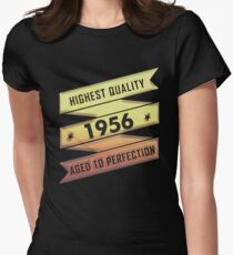 Highest Quality 1956 Aged To Perfection Women's Fitted T-Shirt