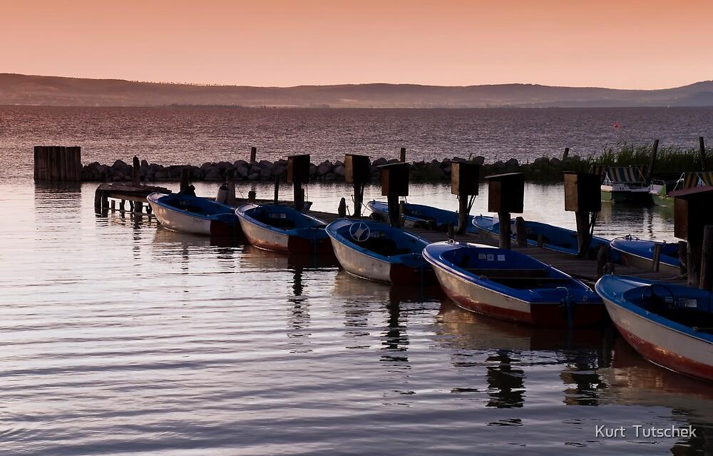 Boats by Kurt  Tutschek