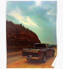 Dodge pickup truck  Poster